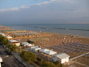 Veduta della spiaggia - balcone