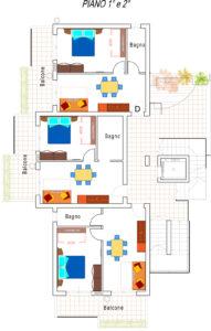 Progetto appartamenti Residence piano 1 e 2 per internet (1)