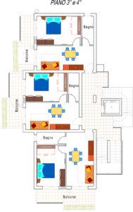 Progetto appartamenti Residence piano 3-4 (1)